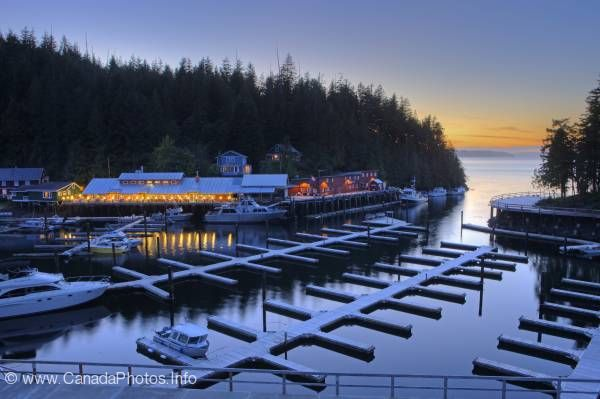 photo of Historic Scenic Telegraph Cove Vancouver Island