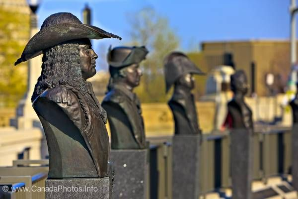 photo of Valiants Memorial Busts Ottawa Ontario