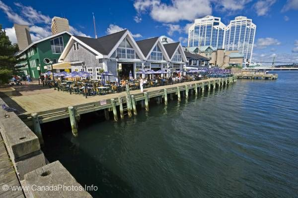 photo of Waterfront Halifax Nova Scotia