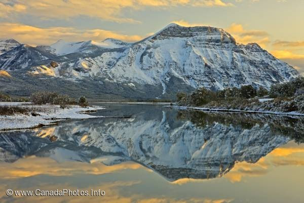 photo of Beautiful Waterton Lakes National Park Scenery