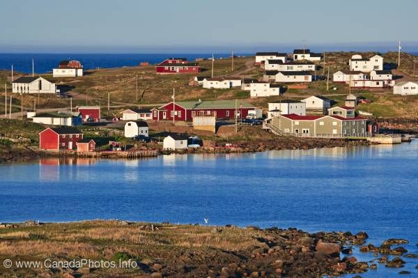 photo of Former Basque Whaling Station Fishing Village Red Bay Labrador
